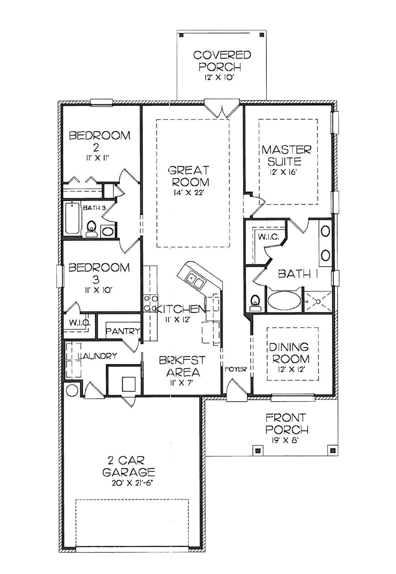 Key Largo Floor Plan