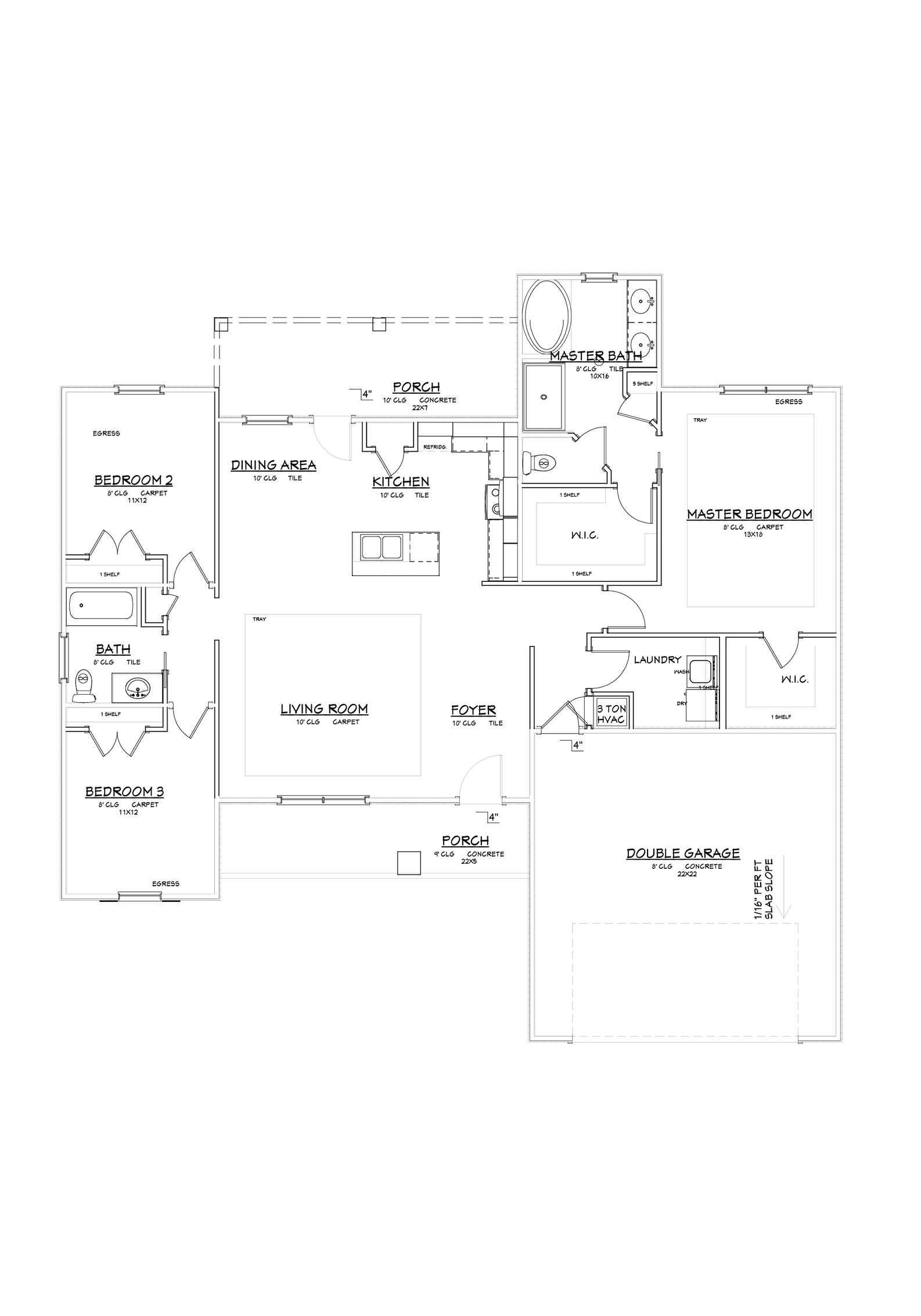 Lorrain Floor Plan