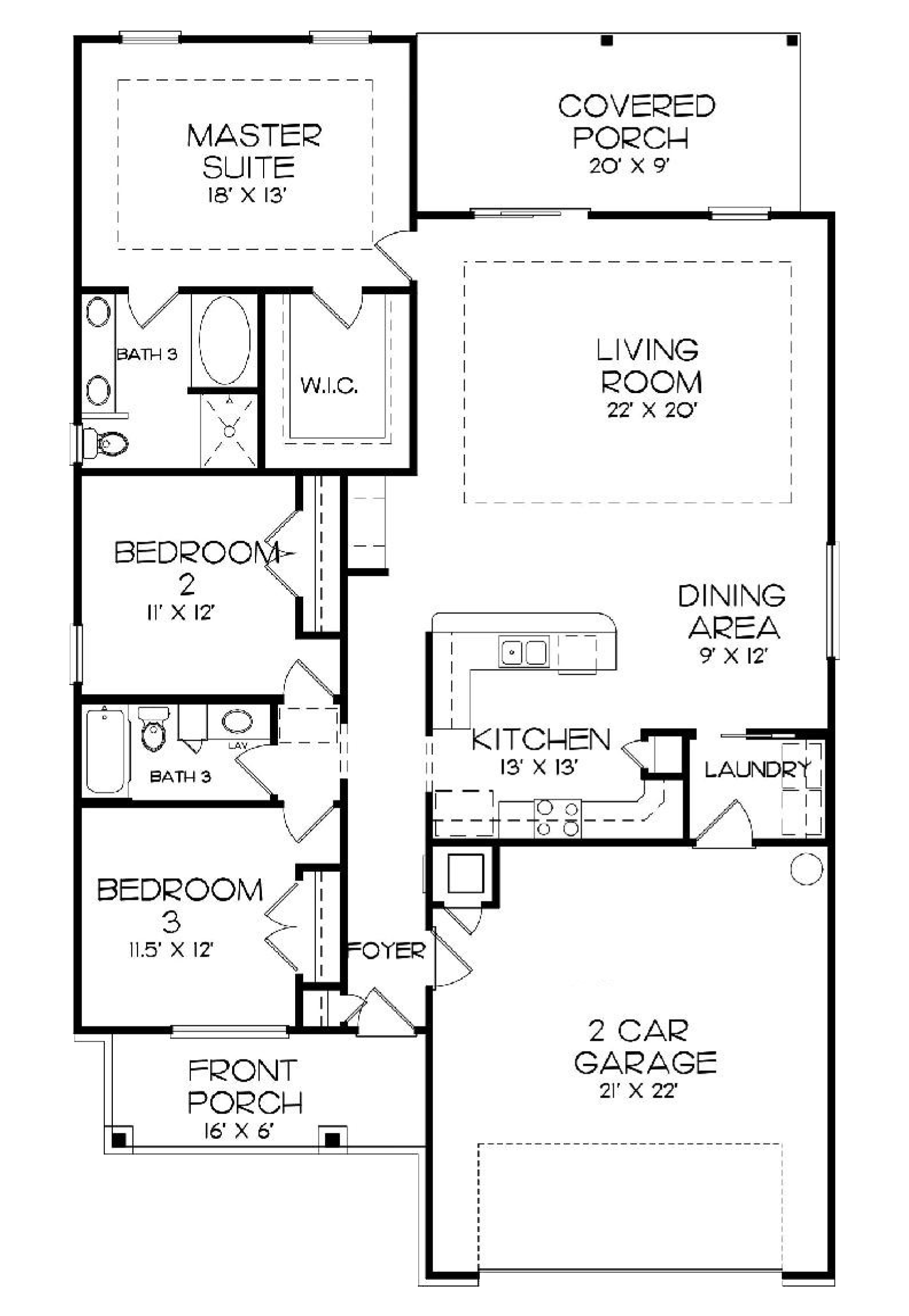 Avalon Floor Plan