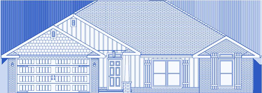 Baylor House Drawing