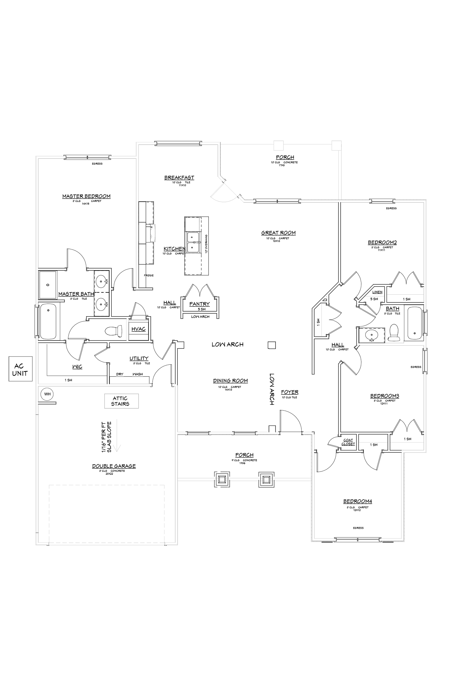 Melborne Floor Plan