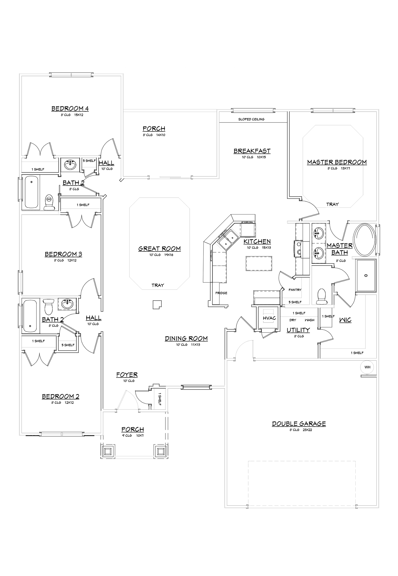 Calloway Floor Plan