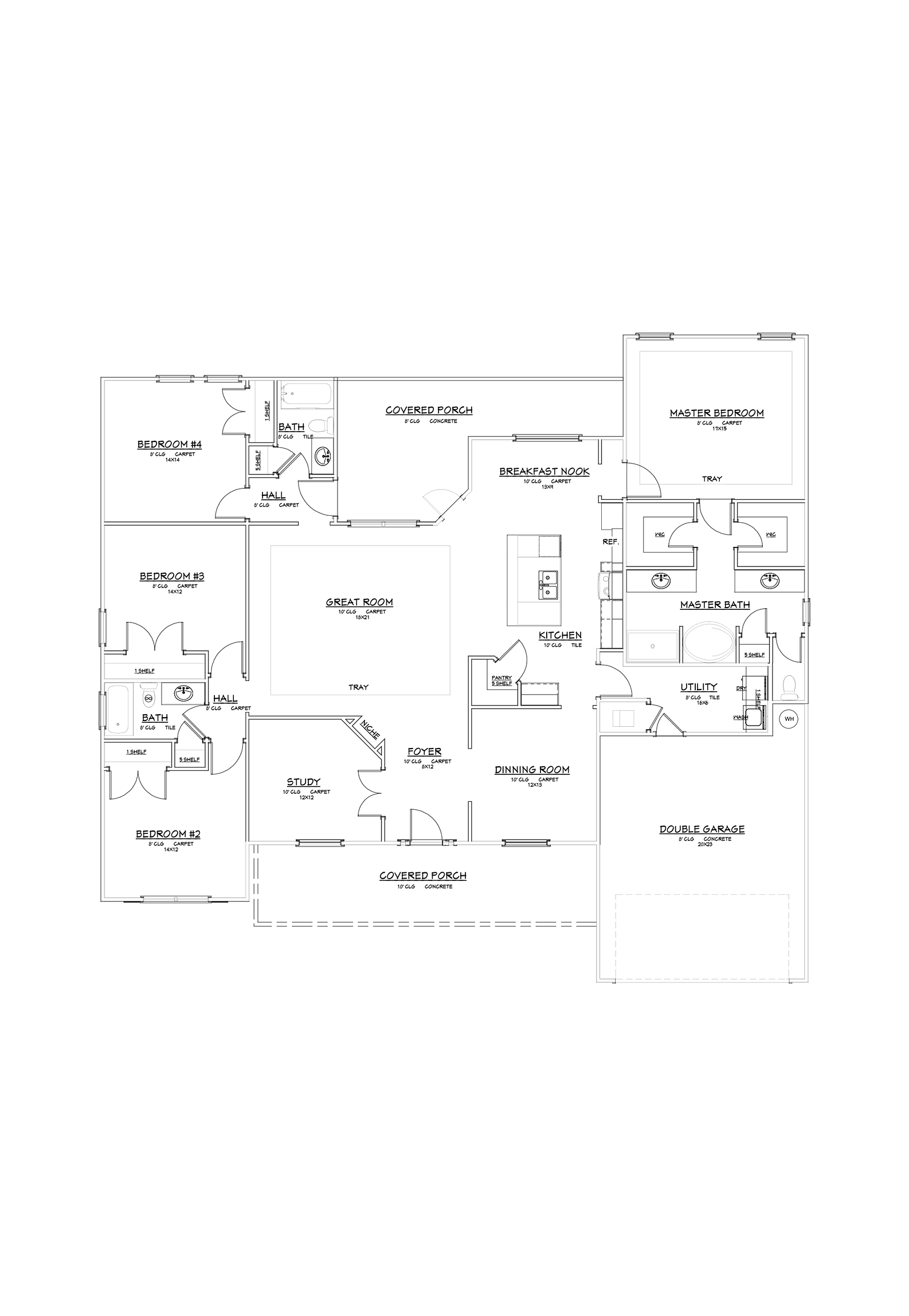 Blaydin Floor Plan