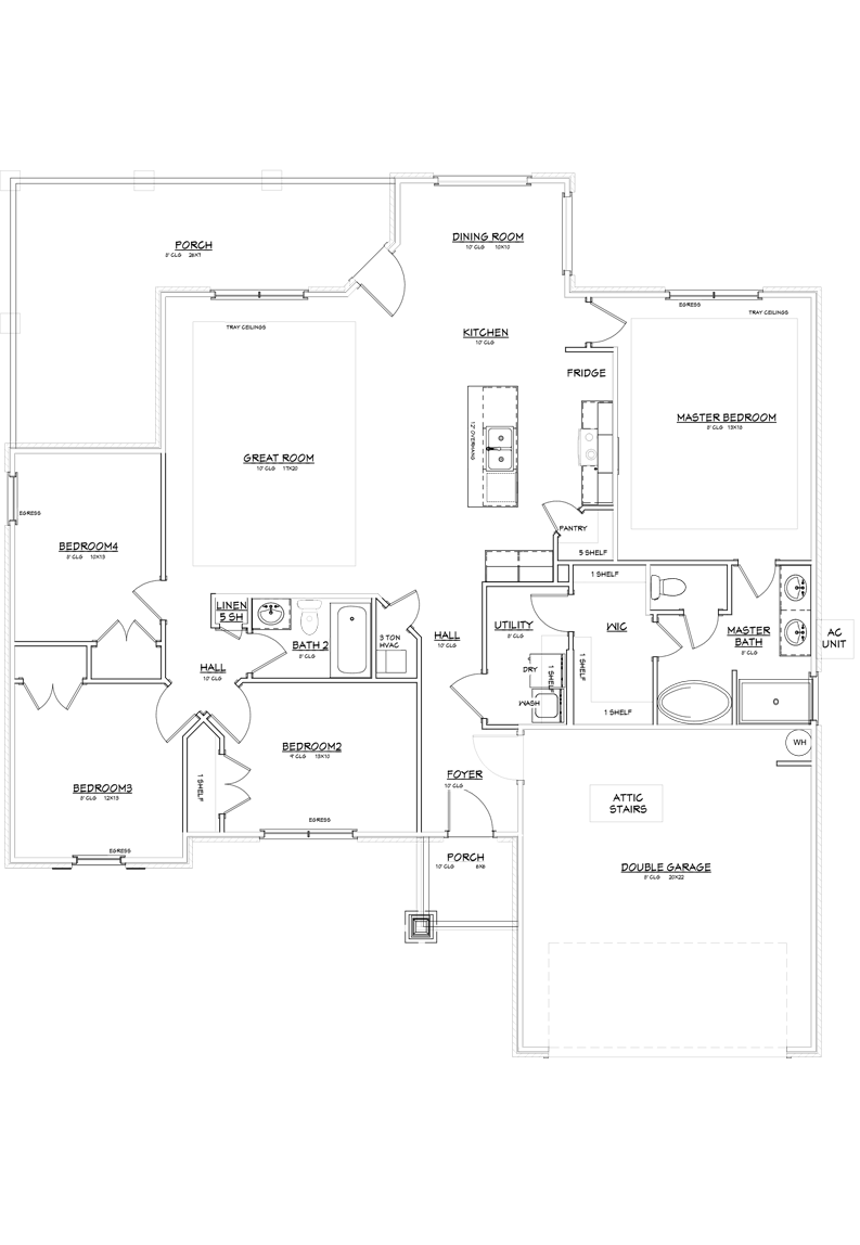 Baylor Floor Plan